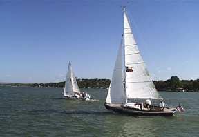 Sailing on Lake LBJ