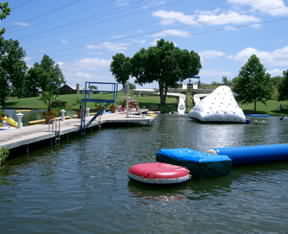 waterpark at Lake LBJ Yacht Club and Marina