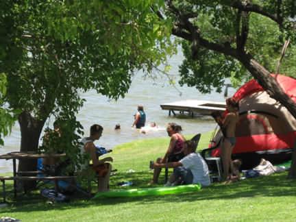 Relaxing At Lake LBJ